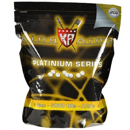 Bille airsoft King Arms 0.20 g sachet 1KG