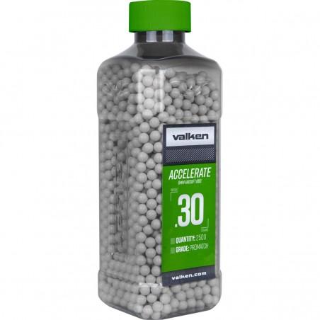 BBs - Valken ACCELERATE 0.30g-2500ct-White