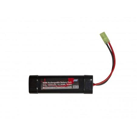 Batterie ASG 9,6v 1600mAh 15,36Wh NiMH