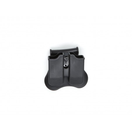 Double magazine polymer pouch, CZ P-09, CO2 mag. ASG