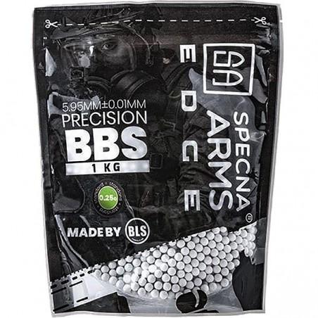 0.25g Specna Arms EDGE Precision BBs - 1kg - White