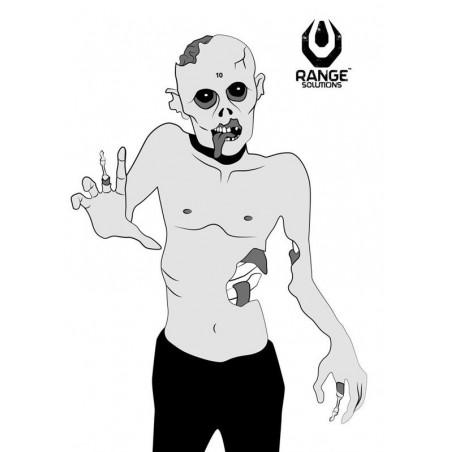 Zombie Shooting Targets - 50 Pcs