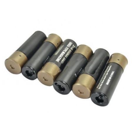M870 / SPAS 12 / M3 magazine (30rds), 6-pack shell, BLACK
