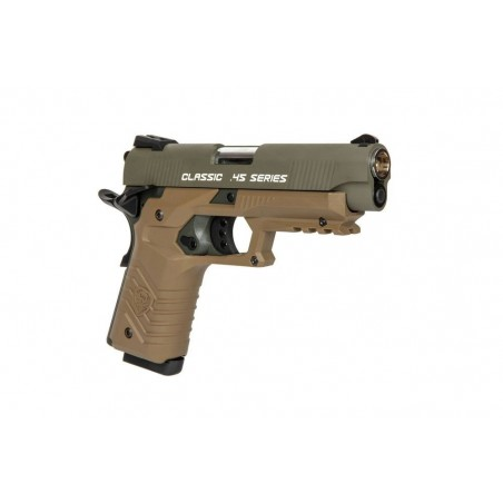 HG-172 Pistol Replique - Olive Drab / Tan